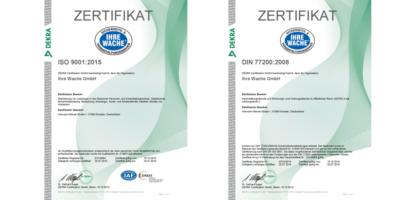 Dekra-Zertifikate
